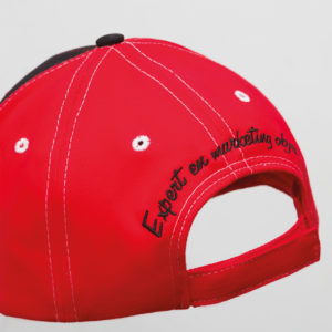Broderie 2D Casquette